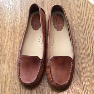 Cole Haan driving loafer Sz 10 brown VGUC Nike air